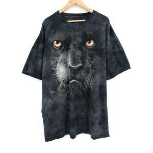Black Panther The Mountain Tie Dye T-Shirt 3XL